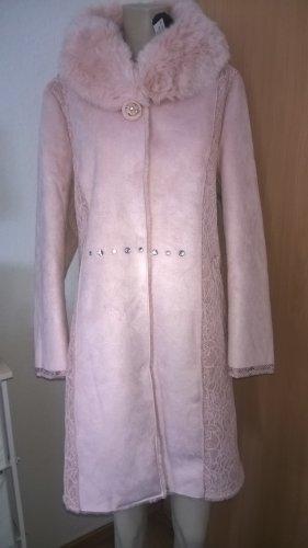 Alfredo Pauly Fake Fur Coat pink polyester