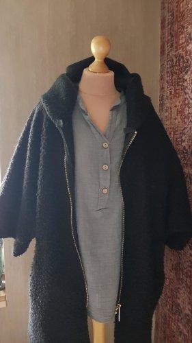 Made in Italy Wełniany sweter czarny