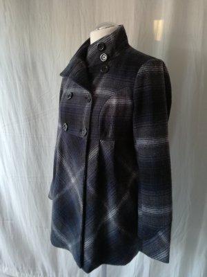 C&A Yessica Krótki płaszcz Wielokolorowy Tkanina z mieszanych włókien
