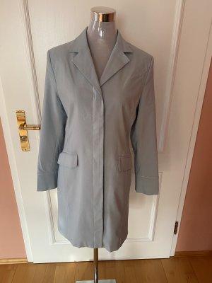 Apart Impressions Krótki płaszcz szary niebieski-jasnoniebieski