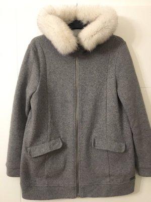 Woolrich Manteau en laine gris
