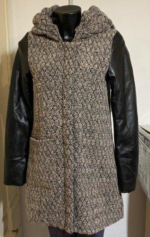 Review Gabardina tipo vestido negro-marrón grisáceo