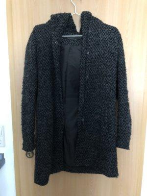 Only Manteau à capuche noir-gris