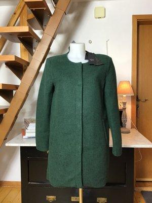 Only Short Coat dark green mixture fibre