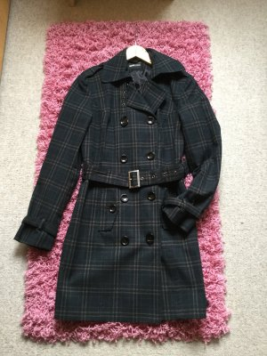 FlashLights Krótki płaszcz czarny-beżowy