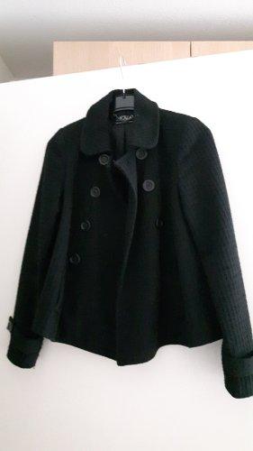 Zara Trafaluc Short Coat black polyester