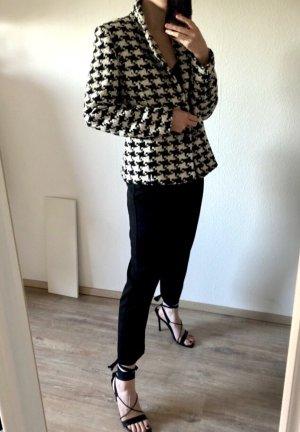 Tuzzi Tweed blazer wit-zwart