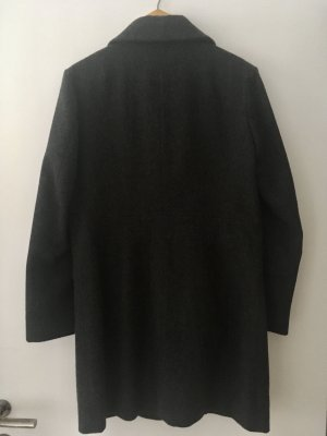 Muji Manteau court gris anthracite