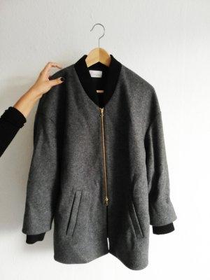 RED Valentino Cappotto corto nero-grigio