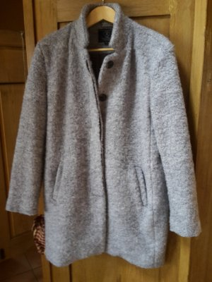 Rino & Pelle Manteau court gris clair polyester
