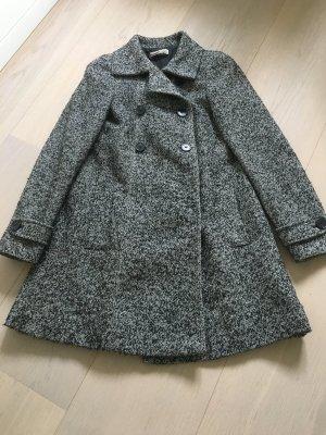 Stefanel Short Coat grey mixture fibre
