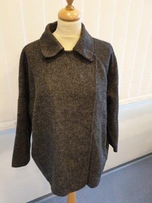 Zara Chaqueta de lana gris oscuro-gris antracita