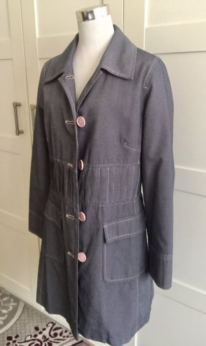 Zero Short Coat anthracite-pink