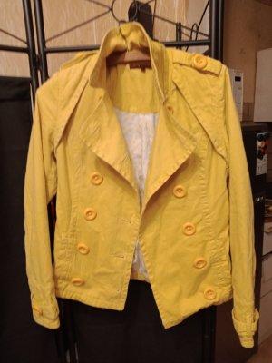 Review Short Coat yellow