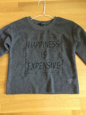 Tally Weijl Fleece Jumper dark grey