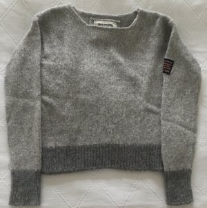 True Religion Knitted Sweater light grey-grey