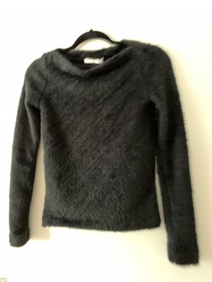 Kuschel pullover weich schwarz