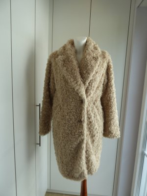 Hallhuber Donna Fake Fur Coat multicolored polyacrylic