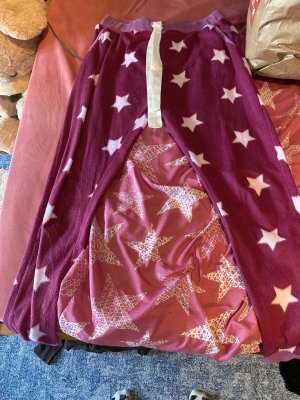 Janina Woolen Trousers pink