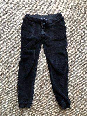 Casual Lady Woolen Trousers black