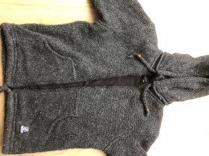 Cardigan norvégien gris anthracite-noir