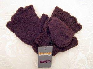 Magic Mitaine brun tissu mixte