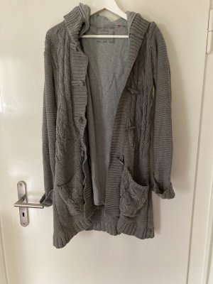 s.Oliver Coarse Knitted Jacket grey