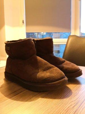 Kuschelige Boots Braun Emu Made in Australia 36 Winter Herbst Damen