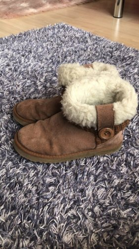 ukala Snow Boots camel-oatmeal