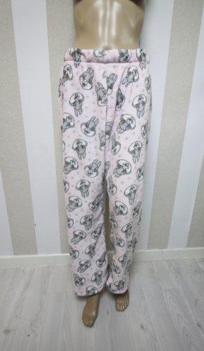 Kuschelige Homewear Hose mit Hasen Bunny Motiv