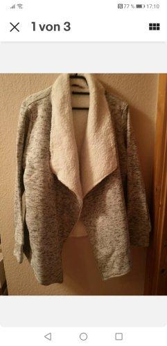 Hunkemöller Wełniany sweter biały-szary