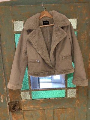 Kuschelige Jacke