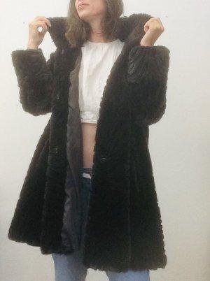 kuschelige Jacke in tollem dunklen Teddyfell von Canda/C&A