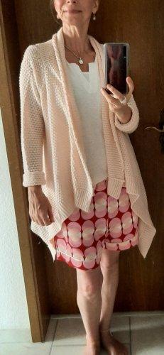 Janina Cárdigan de punto grueso rosa-rosa claro Acrílico