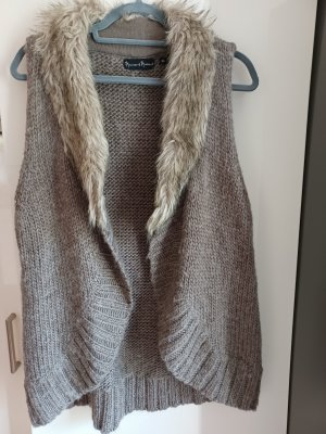 Kuschelige Mercer & Madison Weste fake fur, mit Alpaca Gr. XL