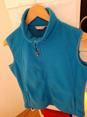 hickory Fleece Vest turquoise polyester