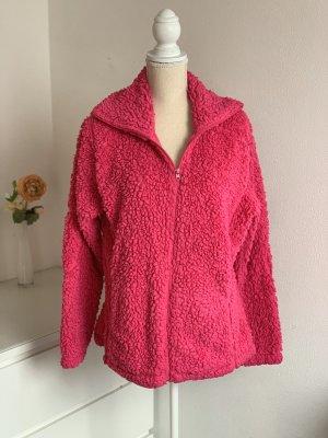 Kuschelige Pinke Jacke
