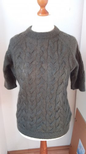 COS Warkoczowy sweter Wielokolorowy Wełna