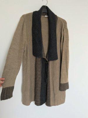 Ulla Popken Coarse Knitted Jacket multicolored