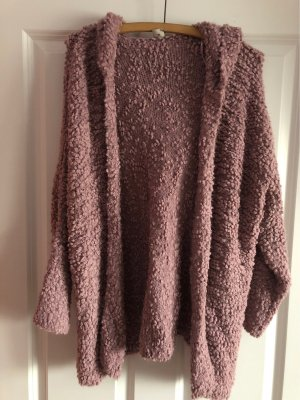 17&co Knitted Cardigan rose-gold-coloured
