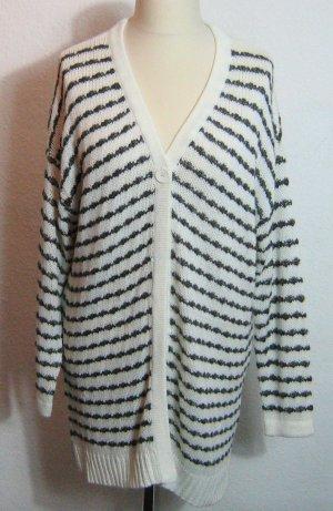 bpc Veste en tricot blanc tissu mixte