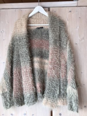 Summum Veste tricotée en grosses mailles multicolore