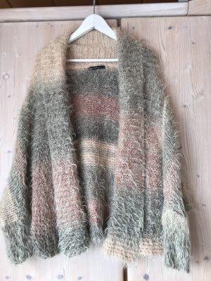 Summum Cardigan a maglia grossa multicolore