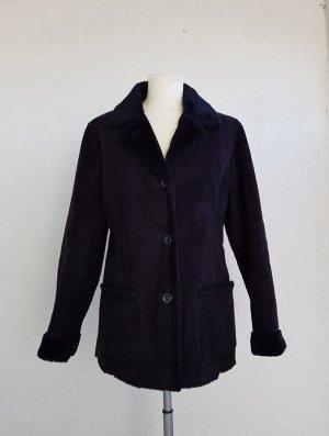 kuschelige warme Winterjacke in schwarz von Brookshire in Gr. 36