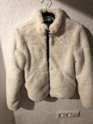 G-Star Giacca di pelliccia bianco