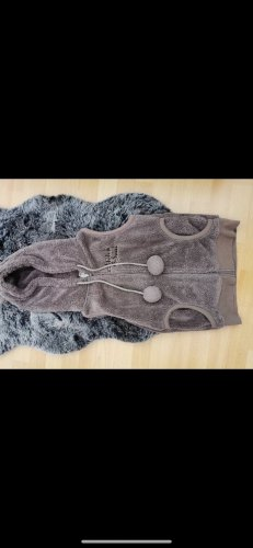 Stitch & Soul Hooded Vest multicolored