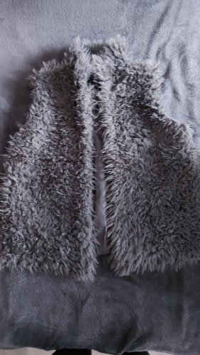 Gina Fur vest grey