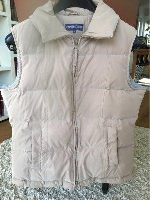 Review Down Vest light grey-beige