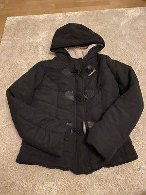 Kuschelige Winterjacke schwarz