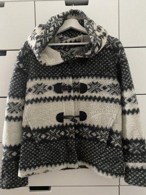 Kuschelige Wolljacke Winterprint S